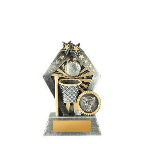 Netball Trophy 1003-8A - Trophy Land