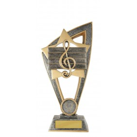 Music Trophy 10B-FIN44G - Trophy Land