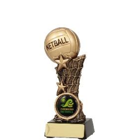 Netball Trophy 11037A - Trophy Land