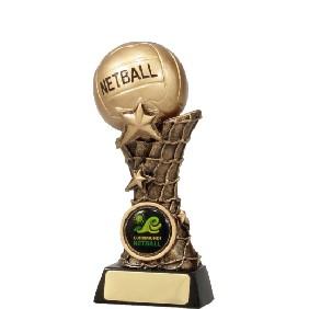 Netball Trophy 11037B - Trophy Land