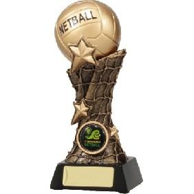 Netball Trophy 11037D - Trophy Land
