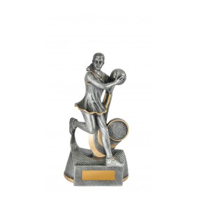 Netball Trophy 1118-8C - Trophy Land