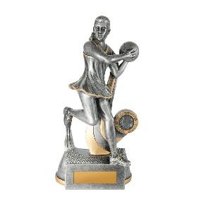 Netball Trophy 1118-8E - Trophy Land
