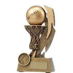 Netball Trophy 11637B - Trophy Land