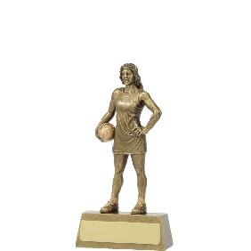 Netball Trophy 11791A - Trophy Land