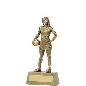 Netball Trophy 11791B - Trophy Land