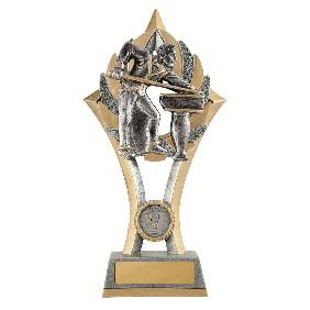 Snooker Trophy 11C-FIN34G - Trophy Land