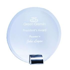 Glass Award 1201C - Trophy Land