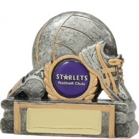 Netball Trophy 12037 - Trophy Land