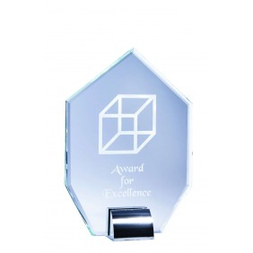 Glass Award 1203A - Trophy Land