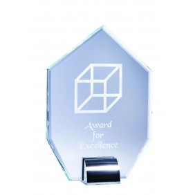 Glass Award 1203B - Trophy Land