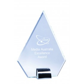 Glass Award 1204B - Trophy Land