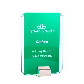 Glass Award 1205-3GN - Trophy Land