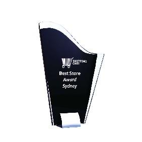 Glass Award 1207B - Trophy Land