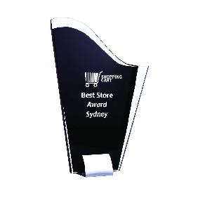Glass Award 1207C - Trophy Land