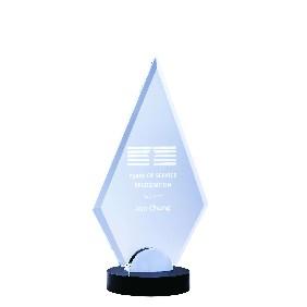 Glass Award 1212A - Trophy Land
