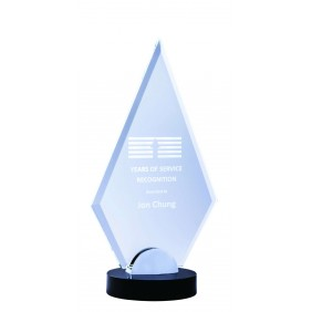 Glass Award 1212B - Trophy Land