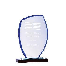 Glass Award 1213ABU - Trophy Land