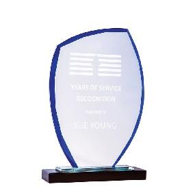 Glass Award 1213BBU - Trophy Land