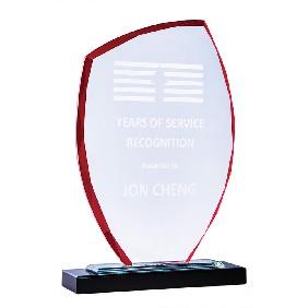 Glass Award 1213CR - Trophy Land