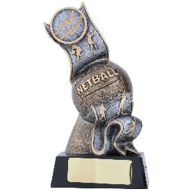 Netball Trophy 12237B - Trophy Land