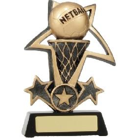 Netball Trophy 12437L - Trophy Land