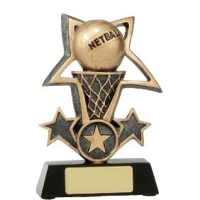 Netball Trophy 12437M - Trophy Land