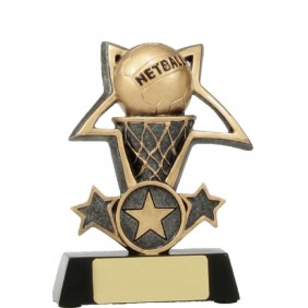 Netball Trophy 12437S - Trophy Land