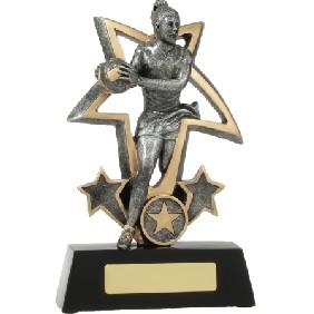 Netball Trophy 12491L - Trophy Land