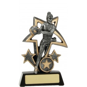 Netball Trophy 12491S - Trophy Land