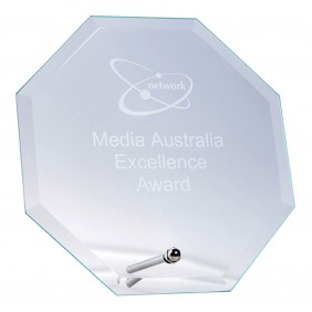 Glass Award 1254A - Trophy Land