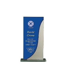 Glass Award 1255-1BUS - Trophy Land