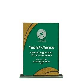 Glass Award 1255-1GNG - Trophy Land