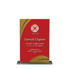 Glass Award 1255-1RG - Trophy Land