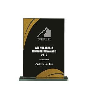 Glass Award 1255-2BKG - Trophy Land