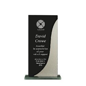 Glass Award 1255-2BKS - Trophy Land