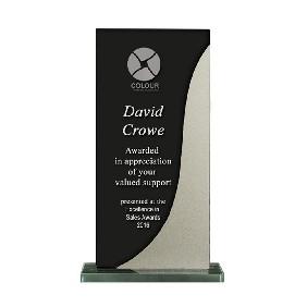 Glass Award 1255-3BKS - Trophy Land