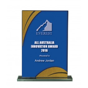 Glass Award 1255-3BUG - Trophy Land