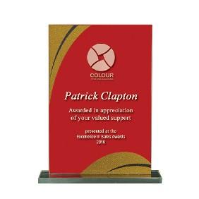 Glass Award 1255-3RG - Trophy Land