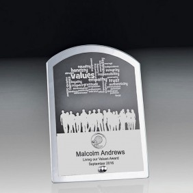 Glass Award 1256-1ARCH - Trophy Land