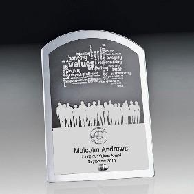 Glass Award 1256-2ARCH - Trophy Land