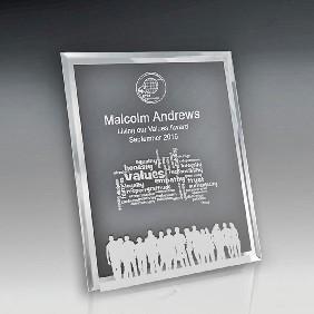 Glass Award 1256-2PORT - Trophy Land