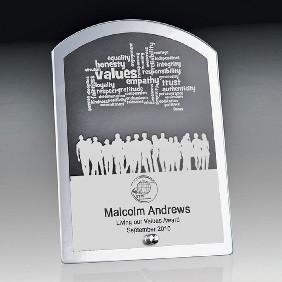 Glass Award 1256-3ARCH - Trophy Land