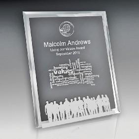 Glass Award 1256-3PORT - Trophy Land