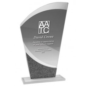 Glass Award 1258-3 - Trophy Land