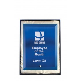 Glass Award 1270-1BU - Trophy Land