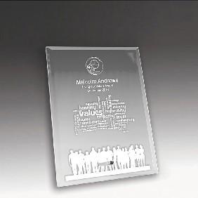 Glass Award 1270-1CL - Trophy Land