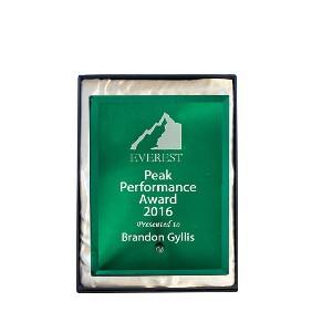 Glass Award 1270-1GN - Trophy Land