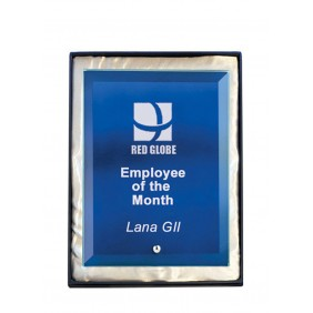 Glass Award 1270-2BU - Trophy Land