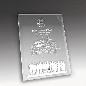 Glass Award 1270-2CL - Trophy Land